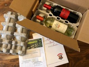 California Wine Club box