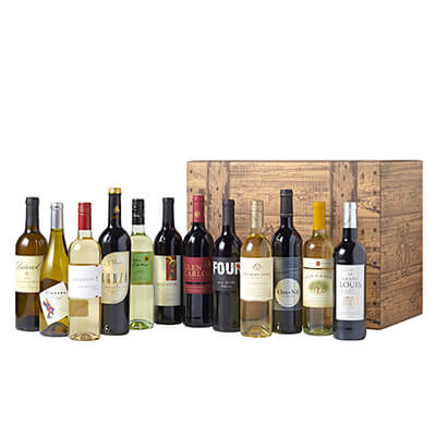 Wine of The Month Club case club